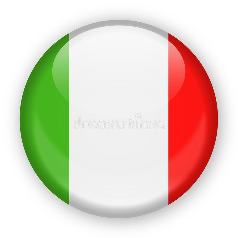bandeira rotonda italia