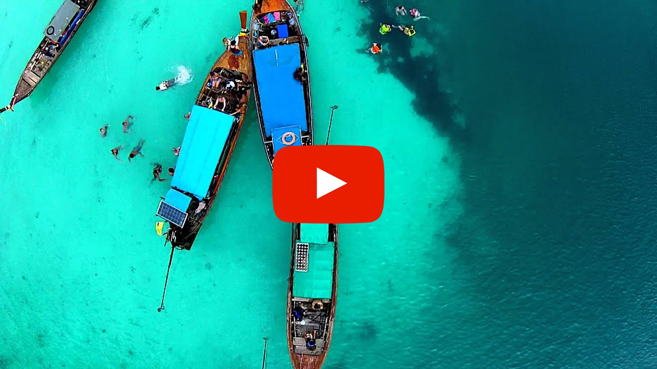 VIDEO DRONE ISOLE PHI PHI